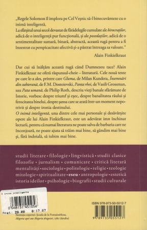 O inima inteligenta - Alain Finkielkraut [1]