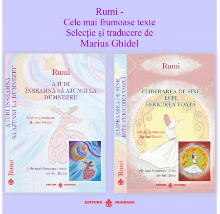 Pachet 2 carti - Rumi - Cele mai frumoase texte - Selectie si traducere Marius Ghidel - Marius Ghidel [0]