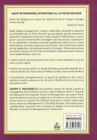 Peter Drucker. Curs de formare pentru manageri - Joseph A. Maciariello [1]