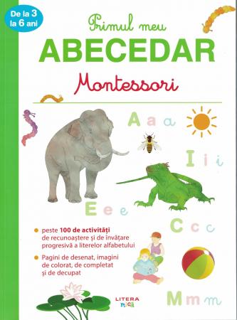 Primul meu ABECEDAR Montessori. De la 3 la 6 ani [0]