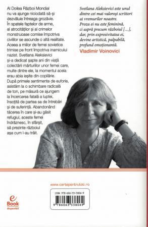 Razboiul nu are chip de femeie - Svetlana Aleksievici [1]