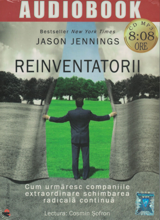 Reinventatorii. AUDIOBOOK  CD  MP3 - Jason  Jennings [0]