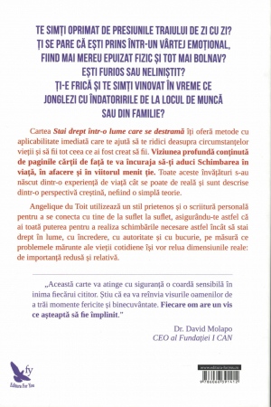 Stai drept intr-o lume care se destrama - Angelique Du Toit [1]