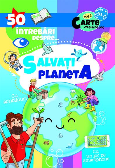 50 Intrebari despre ... Salvati Planeta ( cu abtibilduri) 0