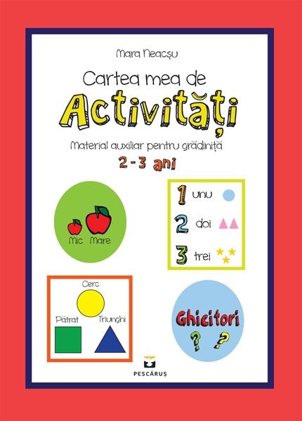 Cartea mea de activitati 2-3 ani 0