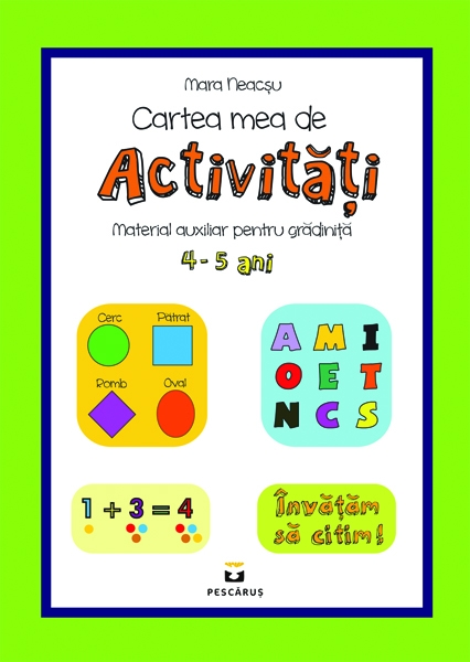 Cartea mea de activitati 4-5 ani 0