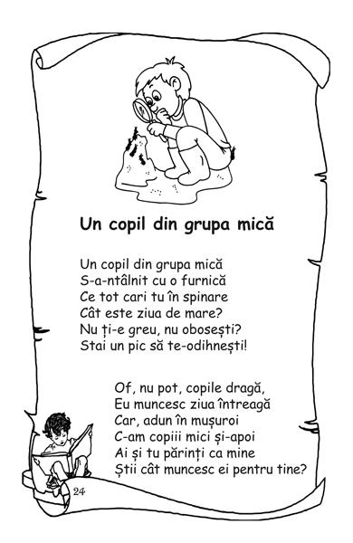 Poeziile si cantecelele copilariei mele (din folclor) 3