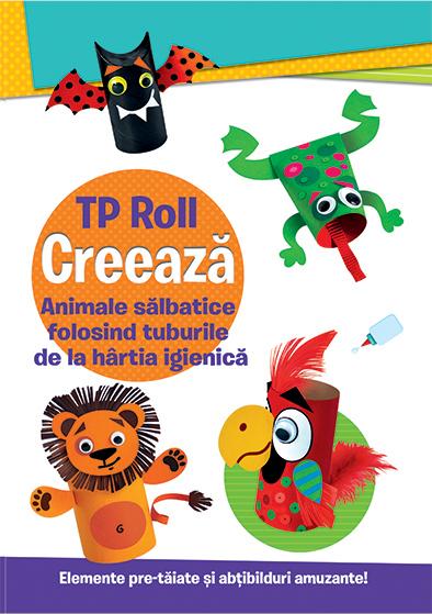 CREEAZA - Animale salbatice folosind tuburile de la hartia igienica 0