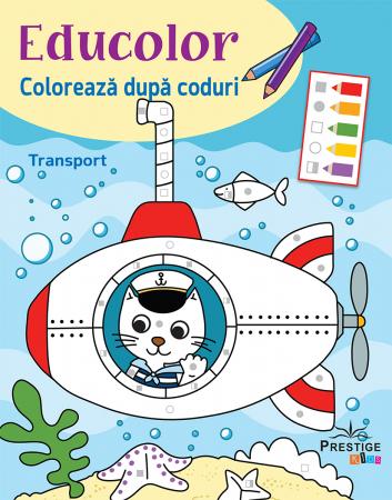 Educolor Coloreaza dupa Coduri: Transport [0]