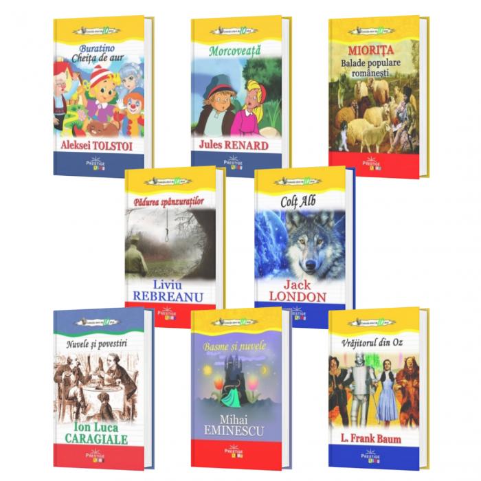 Pachet 8 carti din Colectia Elevi de 10 plus [0]