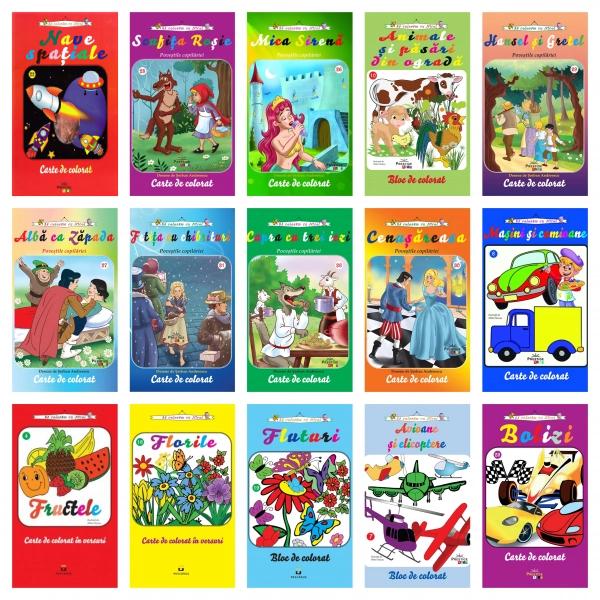 Pachet carti de colorat A4 [0]