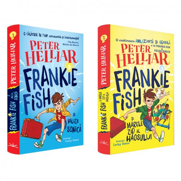 Pachet Frankie Fish de Peter Helliar 0