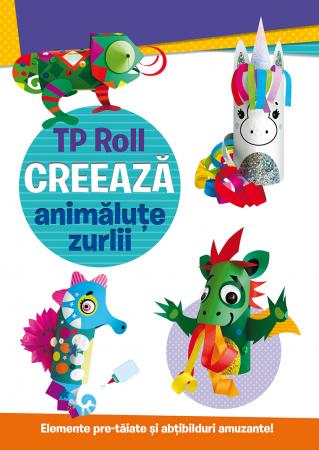 TP Roll CREEAZA - Animalute zurlii