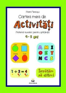 Cartea mea de activitati 4-5 ani0