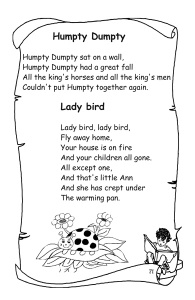 Poeziile si cantecelele copilariei mele (din folclor)4