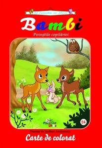 Bambi - carte de colorat0