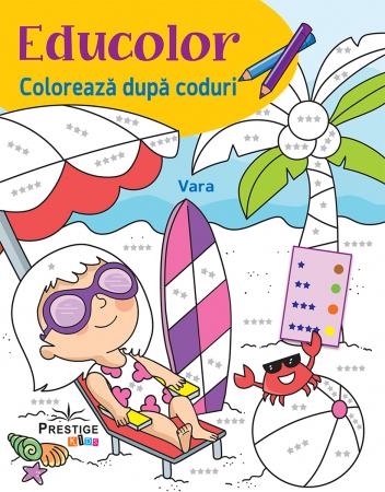 Coloreaza dupa Coduri: Vara
