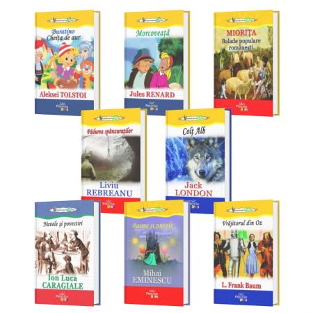 Pachet 8 carti din Colectia Elevi de 10 plus