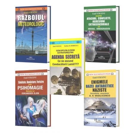 Pachet - Emil Strainu 5 titluri