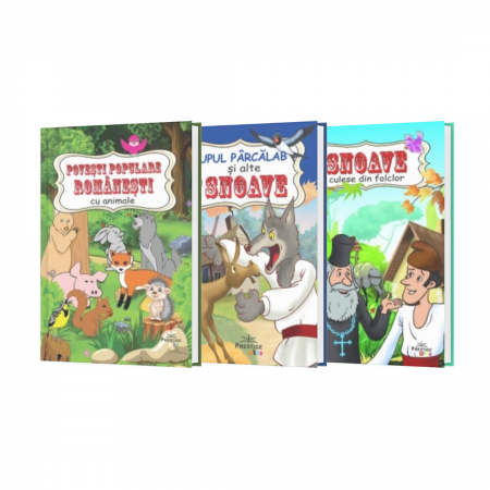 Pachet Povesti Populare Romanesti 3 Titluri