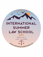 International Summer Law School 2017, 05 - 12 iulie 2017