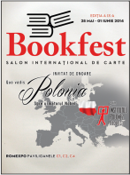 Salonul international de carte  Bookfest 2014, 28 mai - 1 iunie 2014
