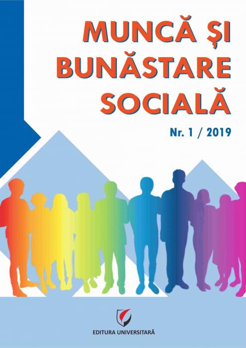 Work and social welfare. No. 1/2019 0