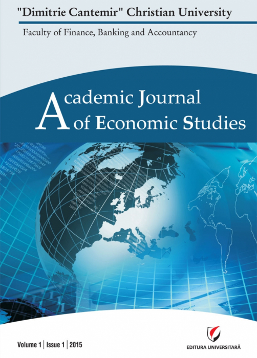 Academic Journal of Economic Studies, Volume 1, Issue 1/2015 0