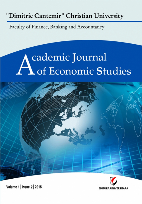Academic Journal of Economic Studies, Volume 1, Issue 2/2015 0
