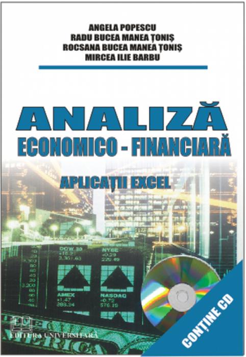 Analiză economico-financiară - Aplicaţii Excel 0