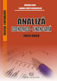 Analiză economico - financiară - Teste grilă 0