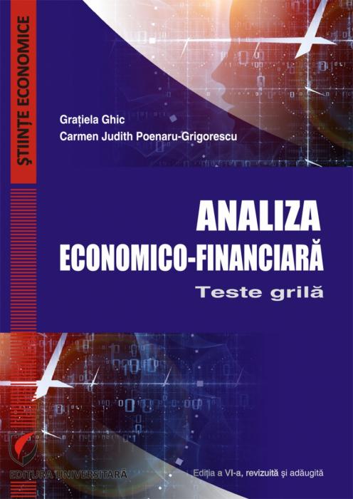 Analiza economico-financiara. Teste grila 0