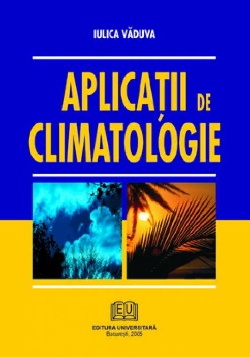 Aplicatii de climatologie 0