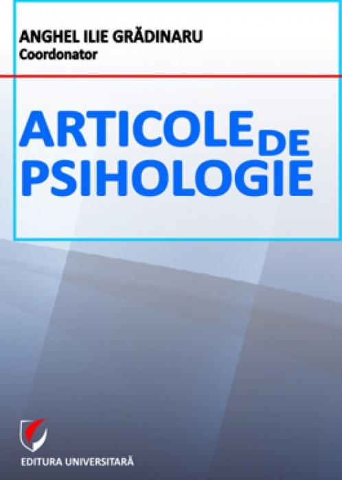 Articole de psihologie [0]