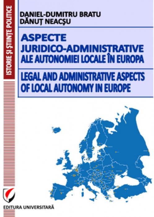 Aspecte juridico-administrative ale autonomiei locale in Europa [0]