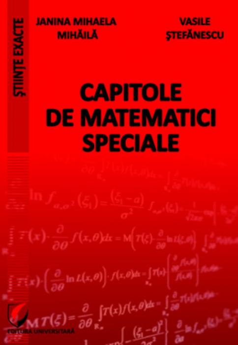 Capitole de matematici speciale 0