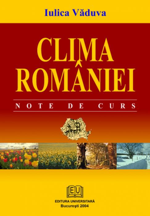 Clima României. Note de curs 0