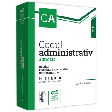 Annotated administrative code. News. Comparative examination. Explanatory notes. 2021. 3rd edition, revised and added - Verginia Vedinas [0]