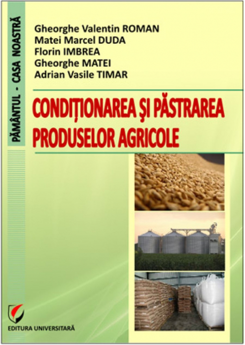 Conditioning and storage of agricultural products 0