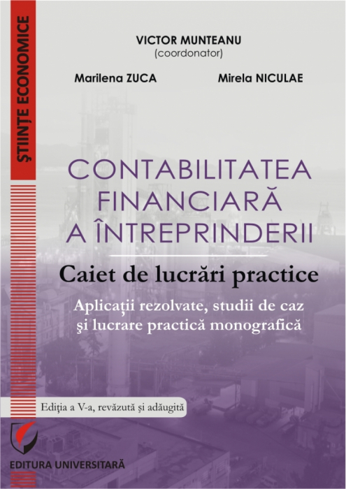 Financial Accounting of the Enterprise. Practical Workbook. Solved Application, Case Studies and Practical Monographic Paper 0