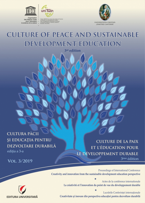 Culture of Peace and Sustainable Development Education. Vol. 3/2019 0