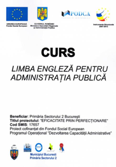Curs - Limba engleza pentru administratia publica 0