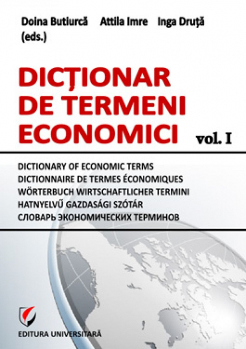Dictionar de termeni economici, vol. I 0