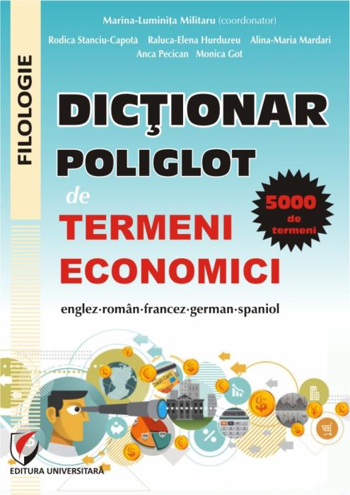 Dictionar poliglot de termeni economici englez-roman-francez-german-spaniol 0