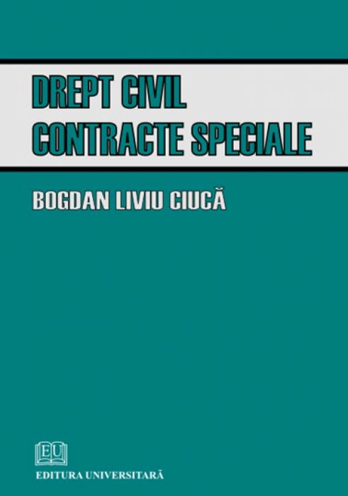 Drept civil. Contracte speciale [0]