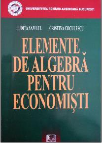 Elemente de algebra pentru economisti 0