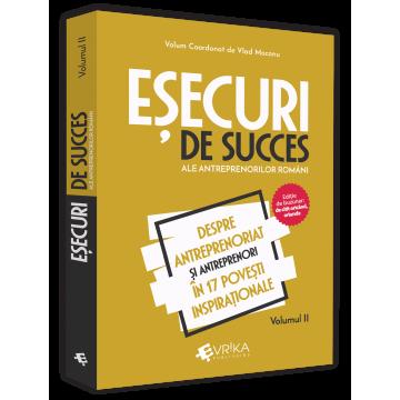 Successful failures of Romanian entrepreneurs. Volume II. About entrepreneurship and entrepreneurs in 17 inspirational stories - Vlad Mocanu [0]