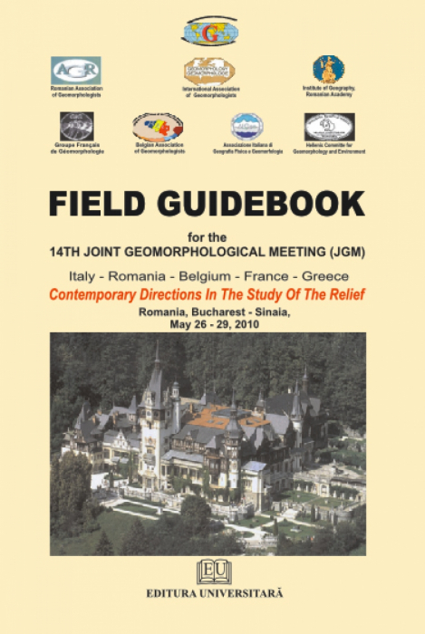 Field Guidebook for 14th Joint Geomorphological Meetung (JGM) 0