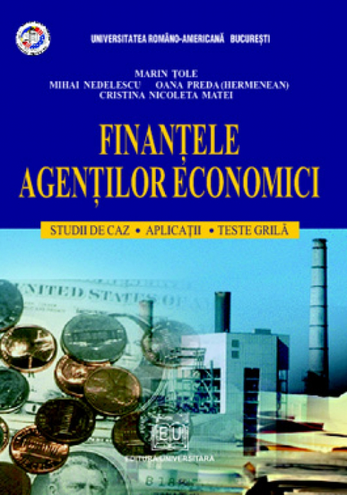 Finance businesses. Case studies, applications, multiple choice test [0]