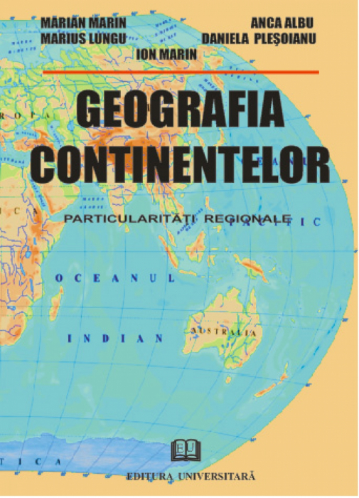 Geography of Continents-regional particularities 0